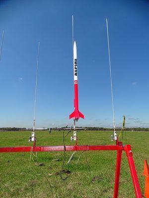 My First F Impulse Rocket